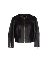 Elisabetta Franchi Gold Coats And Jackets Jackets Women Black