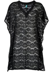 Sub Lace Kaftan Black