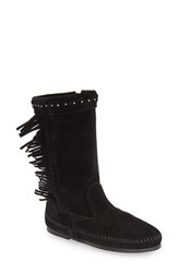 Minnetonka Women's 'Luna' Fringe Boot