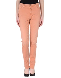 Incotex Denim Pants Salmon Pink