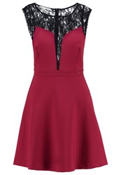 Gaudi' Gaudi Cocktail Dress Party Dress Rumba Red Bordeaux