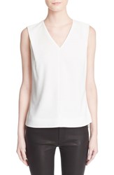 Ted Baker Women's London 'Dexi' Shoulder Tuck Sleeveless Top Cream