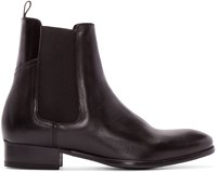 Hudson Black Leather Watts Chelsea Boots