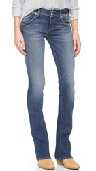 Hudson Beth Mid Rise Baby Boot Cut Jeans Del Mar