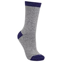 John Lewis Wool And Silk Colour Block Ankle Socks Dove Grey Navy Dove Grey Navy