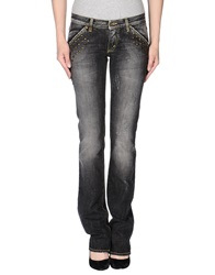 Met Denim Pants Black