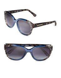 Vince Camuto 57Mm Cats Eye Sunglasses Blue