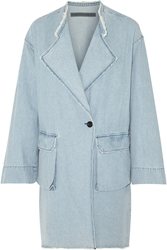 Raquel Allegra Oversized Denim Coat