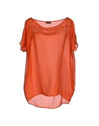 Fred Perry Blouses Orange