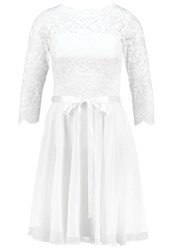Swing Cocktail Dress Party Dress Creme Off White
