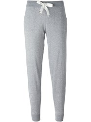Moncler Slim Track Pants Grey