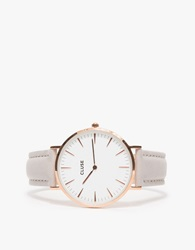 Cluse La Boheme Rose Gold White Grey White Grey