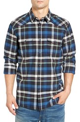 Lucky Brand Men's 'Sante Fe' Classic Fit Plaid Western Woven Shirt