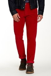 Ben Sherman Corduroy East End Fit Pant Red
