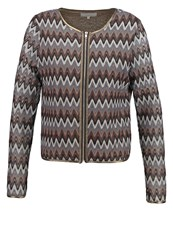 Cream Milani Cardigan Dark Grey Dark Gray