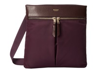 Knomo London Tilney Ipad Mini Tablet Crossbody Bag Aubergine Cross Body Handbags Purple