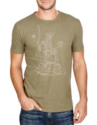 Lucky Brand El Ray Graphic Tee Ivy Green