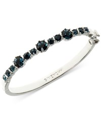 Givenchy Multi Crystal Bangle Bracelet Navy Blue