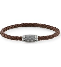 Thomas Sabo Rebel At Heart Nappa Leather Unity Bracelet