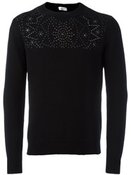 Valentino Studded Jumper Black