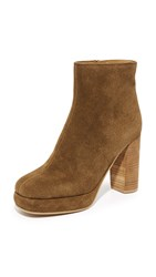 See By Chloe Lisa Platform Booties Argilla Tacco Whisky