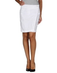 Emporio Armani Ea7 Mini Skirts White
