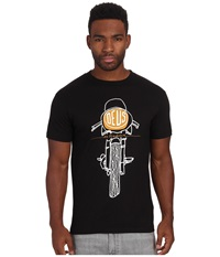 Deus Ex Machina Fontal Matchless Tee Black Men's T Shirt
