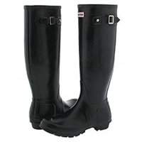 Hunter Original Black Men's Boots