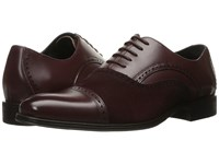 Stacy Adams Sedgwick Cap Toe Oxford Oxblood Men's Lace Up Cap Toe Shoes Red