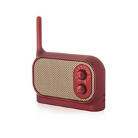 Lexon Mezzo Radio Metallic Red