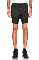 Satisfy Long Distance Shorts In Black