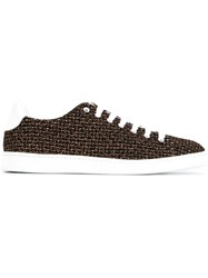 Marc Jacobs Metallic Effect Sneakers Black