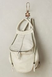 Anthropologie Beau Backpack White