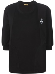 Peter Jensen Paneled Sweatshirt Black