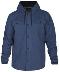 Hurley Men's Belesky 2.0 Hooded Jacket Squadron Blue