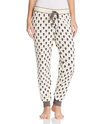 Pj Salvage Skull Print Thermal Pants Bone