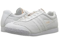 Gola Harrier Glimmer Leather White Rose Gold Women's Shoes