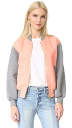 Boutique Moschino Printed Jacket Fantasy Print Pink