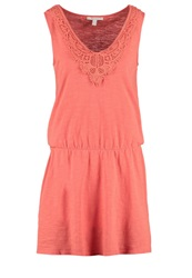 Esprit Jersey Dress Coral Red