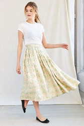 Urban Renewal Vintage Brocade Midi Skirt Assorted