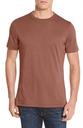 Robert Barakett Men's 'Georgia' Crewneck T Shirt Orange Copper