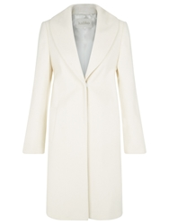 Kaliko Shawl Collar Coat Ivory