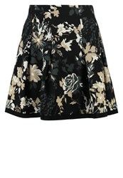 Patrizia Pepe Mini Skirt Black