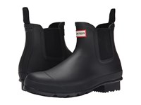 Hunter Original Chelsea Dark Sole Black Men's Rain Boots