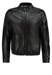 Joop Phalco Leather Jacket Black