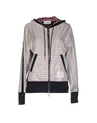 Thom Browne Coats And Jackets Jackets Women Grey