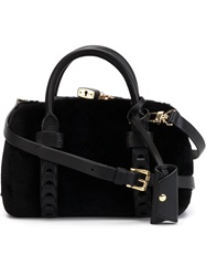 Desa 1972 Mini 'Lady Bug' Tote Black