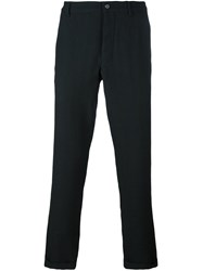 Ann Demeulemeester Grise Tapered Trousers Black