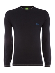 Hugo Boss Crew Neck Knitwear Navy