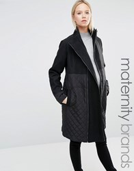 Mama Licious Mamalicous Smart Tikka Coat Black